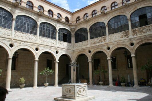 PALACIO DE LOS GUZMANES patio